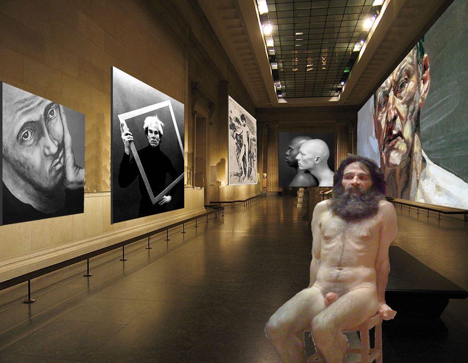 muesum,artzeitmagazine,exhibits, exposiciones, ausstellungen,Warhol,Freud,Van Gloeden, Garbade,Mattlethorpe,