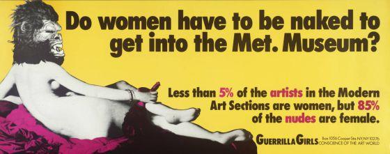 Museos prefieren cuadros de mujeres a Artistas mujeres
