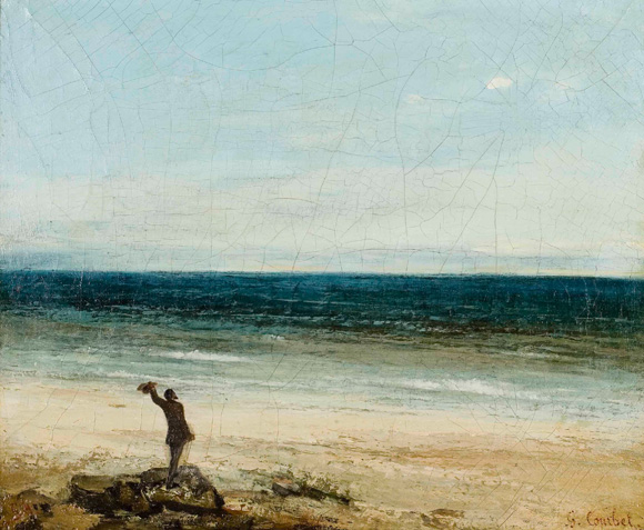 Gustave Courbet,beyeler, fonation, ausstellung exhibit, september, 21014