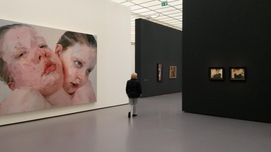jenmy saville,Egon Schiele, Kunsthaus, zürich