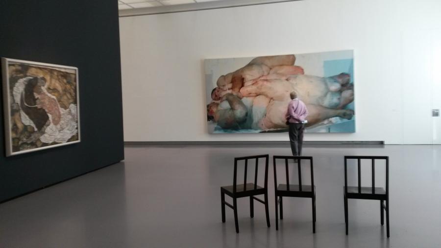 Jenmy Saville,Egon Schiele,Kunsthaus zürich, Kunsthaus zürich