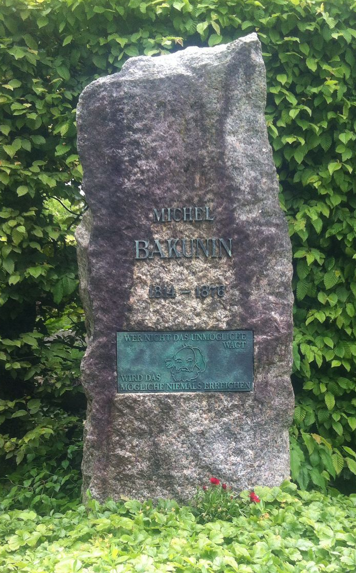 Mijaíl Aleksándrovich Bakunin,Garbade,Friedhof, bremgarten, Berna, suiza, dada, cabaret voltaire, tumba,placa,