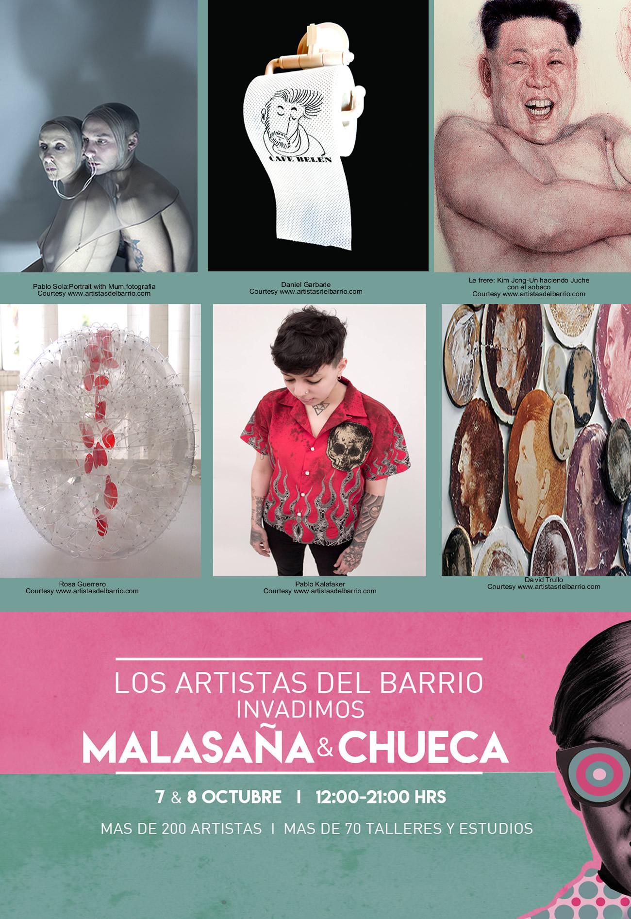 Los artistas del Barrio,Trullo,le frere,garbade,Alvar,Sola,Kaffakar