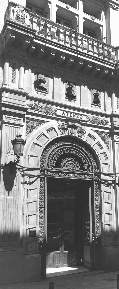 Ateneo de Madrid,garbade,Fachada,