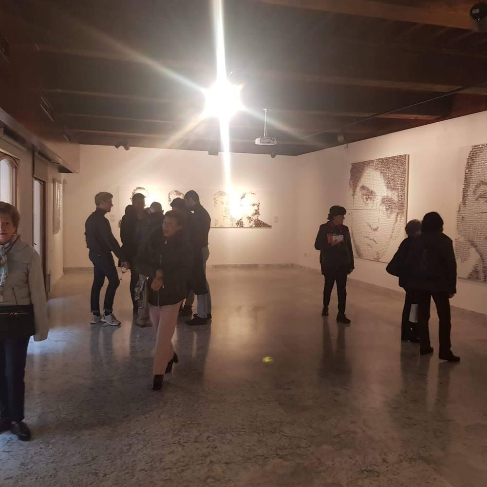 garbade,exposicion,toledo,paintings,galeria,museum,san clemente,centro cultural,inauguracion,vernisage, eróffnung,armas y almas