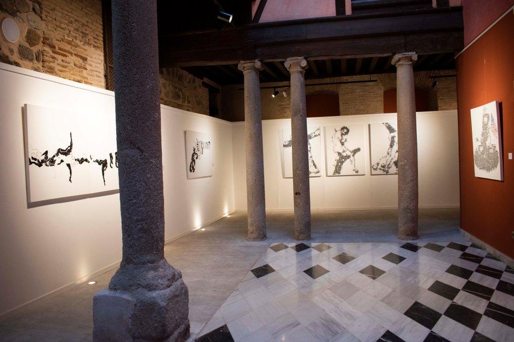 garbade,exposicion,toledo,paintings,galeria,museum,san clemente,centro cultural,goya,refugiados,armas y almas