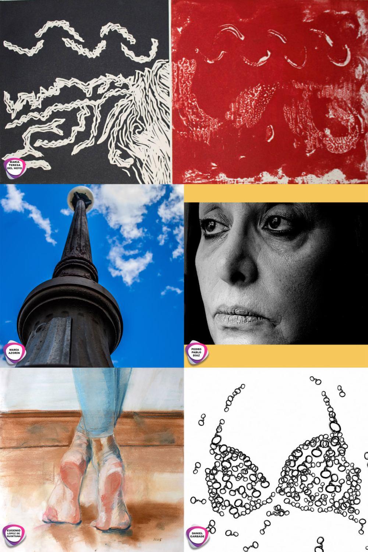 100x1000 ,Mujer,Monzon,san juan,huesca, 8M,exposicion,arte urbano,garbade