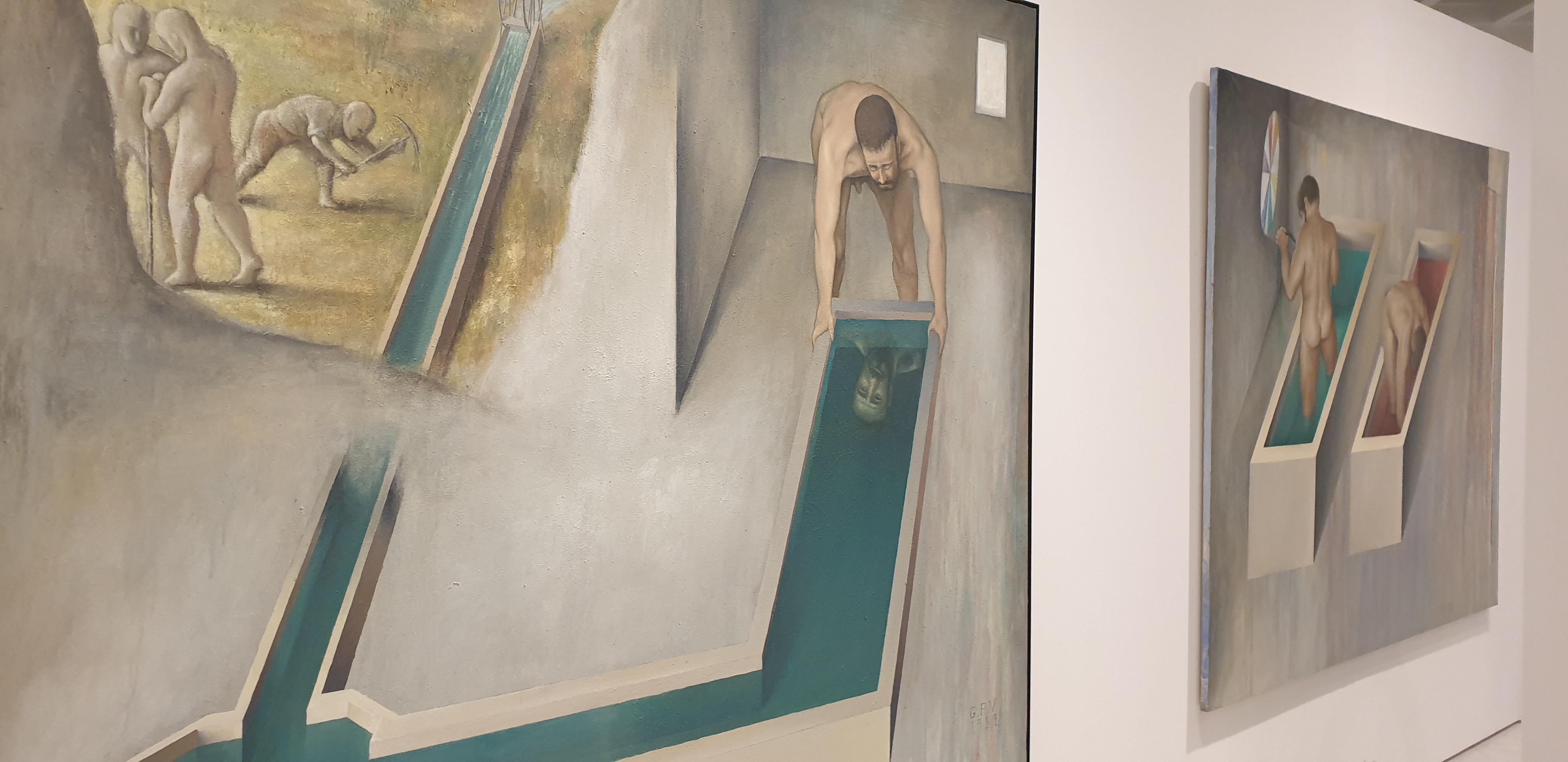 guillermo perez villalta,alcala 31, exposicion,labirinto,madrid,pintos,dibujante